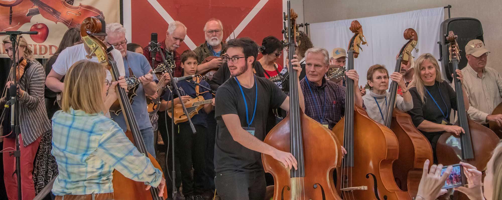 Max Schwartz at Julian Fiddle Camp