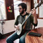 Max Schwartz - with banjo